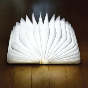 원목재질 인테리어/충전식/무드등/수면등 LED 북램프