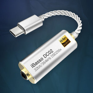 iBasso DC01 DC02 AK4490 스마트폰 타입C DAC