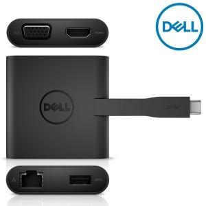 델 정품 DA200 확장어댑터 USB-TYPE-C