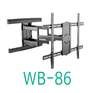 보인 WB-86 42~100인치 대형 벽걸이 브라켓 70kg거치