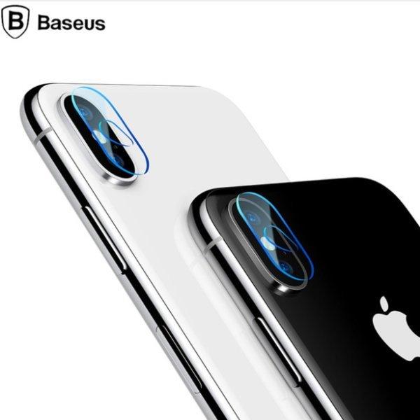 아이폰 X XS Xsmax  카메라 렌즈 보호 강화 유리 필름