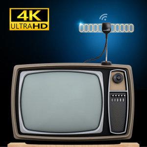 YCH 지상파 UHD TV안테나 DTV 수신기 증폭형 3.0M