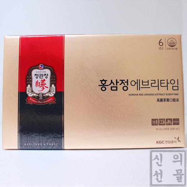 정관장 홍삼정 에브리타임 10mL X 50포 + 쇼핑백 증정