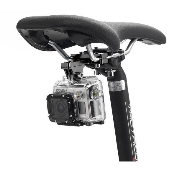 자전거 시트 후방 촬영 마운트 고프로 오즈모 액션캠