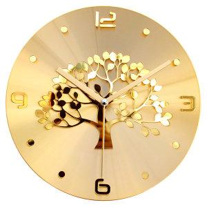 황금나무 골드 인테리어 벽시계 (특별한시계 특가할인)