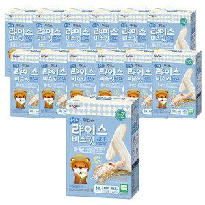 유기농쌀과자 라이스비스킷 플레인 x 12개(box)