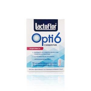 락토플로어 옵티6 불가리아유산균 30정x 6박스