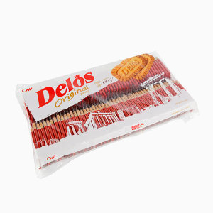델로스 오리지널 6.3g X 100개 커피친구 쿠키 (5개입)