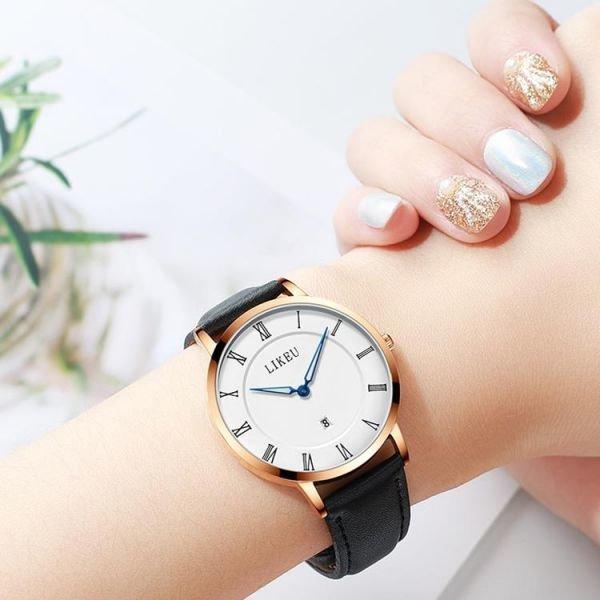 여성시계 커플시계 방수 가죽밴드 20대 여자 심플시계
