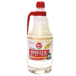 롯데 환만식초 1.8L 9개 /무료배송