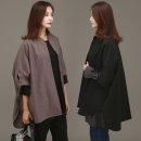 간절기셔츠형자켓 빅사이즈 여성의류 55~110
