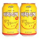 비락식혜 뚱캔 340ml x 12캔 / 식혜 음료수