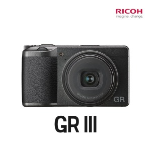 RICOH GR3 GR III 스냅용 카메라