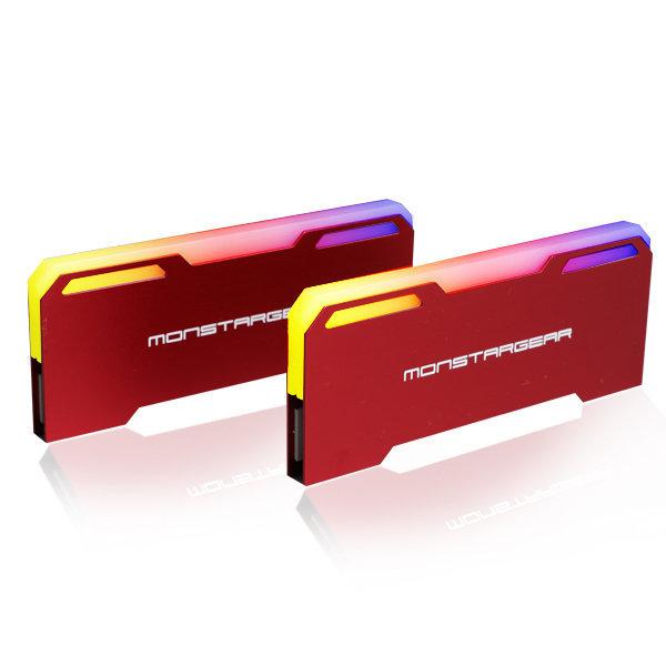 BLADE-A2 레드 램 방열판 ADD RGB RAM HEATSINK