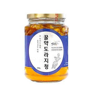 이고장식품 약도라지꿀청 500g 도라지차 국내산 라이트