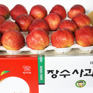 가을 사과의 명품 장수 홍로 사과 10kg