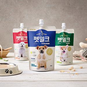 빙그레 에버그로 펫밀크 150g x 10개 강아지우유