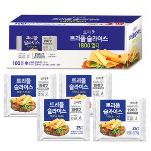 동원 트리플슬라이스치즈 100매 1.8kg(18gx100)