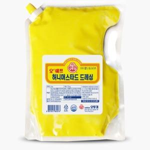 오뚜기 허니머스타드 드레싱2kg/코리아타임스퀘어