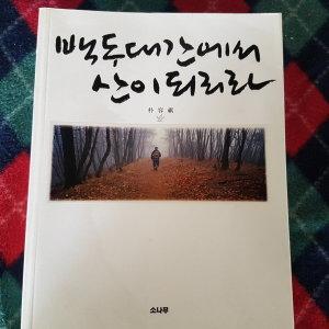 백두대간에서 산이 되리라/박용기.소나무.2006