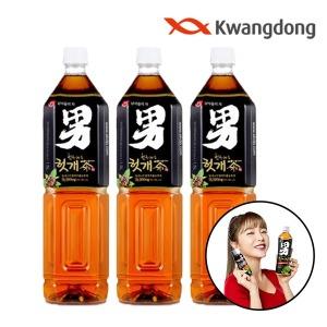 힘찬하루 헛개차 1.5L x 12pet/음료/음료수/숙취해소