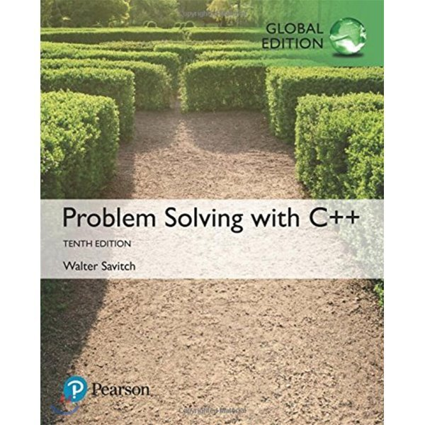 Problem Solving with C++  Global Edition  Walter Savitch