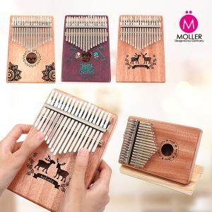칼림바 17건반 손가락 피아노 풀세트 악기 엄지피아노