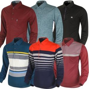 가을 긴팔티 골프티셔츠 카라티 남자 골프웨어 선물
