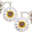 인테리어 무소음 양면시계 해바라기600S/결혼선물소품