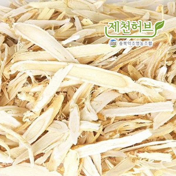 국산 충북(제천) 황기(1년근절) 600g