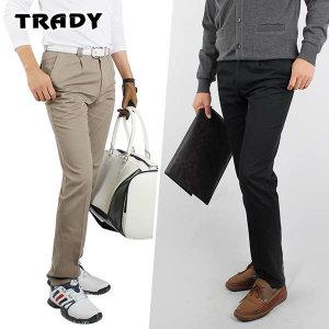 (현대Hmall) Trady 트래디 봄가을용 남성 골프 면바지/골프바지/골프웨어/삼공오공