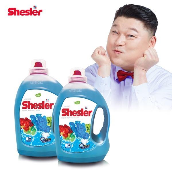 쉬슬러 3배 고농축 액체세제 3.05L 2개