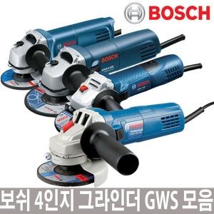 보쉬 4인치 그라인더 GWS750-100 GWS6-100 GWS7-100