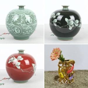 화병 꽃병 꽃꽃이 거실 테이블 매장 집들이 선물 장식