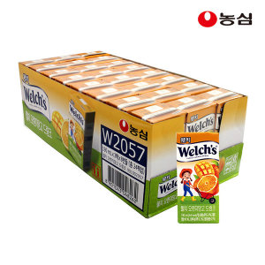 웰치드링크 오렌지망고190mlx24입 (종이팩)