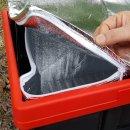 지퍼식 아이스팩 56L  접이식 트렁크 정리함