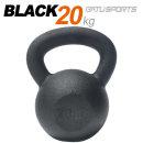 케틀벨 블랙분체 20kg 원조 블랙분체 100%무쇠바디