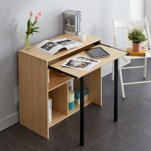 리온 컴퓨터 선반 수납 1인용 책상