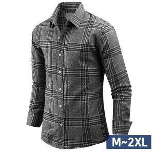 남자 기모 셔츠 긴팔 키워드 체크남성  남방 sp1643