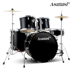 ASANASI 정품 5구 드럼세트 풀세트+의자+스틱 증정