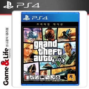 PS4 GTA5 한글판 프리미엄 에디션
