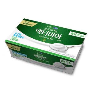 (행사상품)풀무원다논_액티비아컵8입기획 플레인 _80gx8