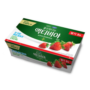풀무원다논_액티비아컵딸기_80Gx8