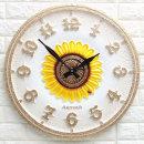 인테리어시계 해피해바라기600W/집들이 개업선물 소품
