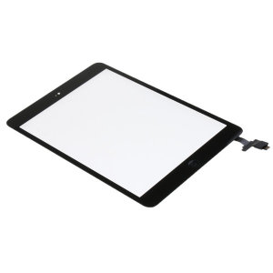 터치 스크린 유리 교체+ic 칩+홈 버튼 ipad 미니 1