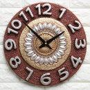 인테리어시계 마블해바라기(G)/집들이 개업선물 소품