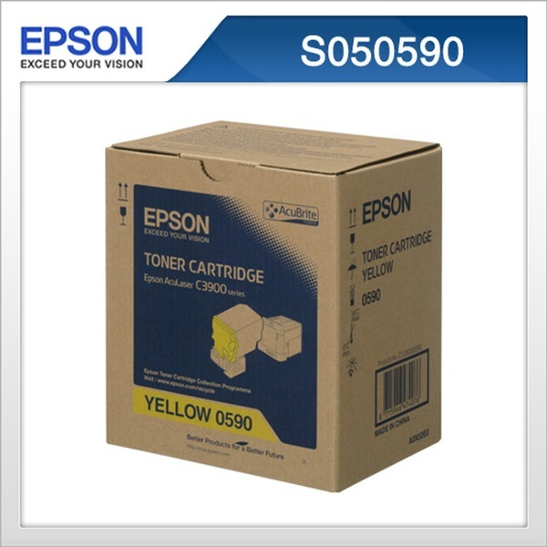 Epson 정품 S050590 노랑 토너 C3900N/DN호환 an