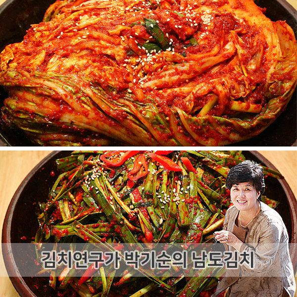 김치연구가 박기순  박기순의 남도김치  포기김치 3kg + 부추김치 2kg
