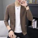 남자 니트 가디건 스웨터 자켓 슬림핏 간절기 hi82