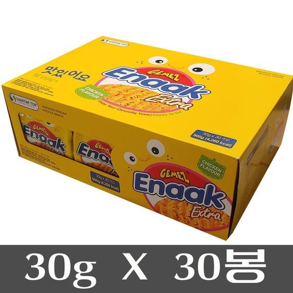 Enaak 게메즈 에낙 라면과자 30gX30봉/라면땅